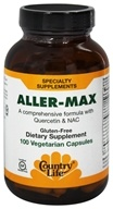 Aller-Max avec la Quercétine et la NAC - 100 Vegetarian Capsules Formerly Biochem by Country Life