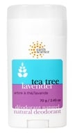 Earth Science - Natural Deodorant Tea Tree & Lavender - 2.45 oz.