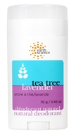 Image of Earth Science - Natural Deodorant Tea Tree & Lavender - 2.5 oz.