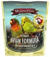 Designing Health - The Missing Link Avian Formula Omega 3 Superfood - 3.5 oz., from category: Pet Care