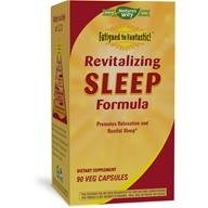 Image of Enzymatic Therapy - Revitalizing Sleep Formula contains Wild Lettuce Extract - 90 Vegetarian Capsules