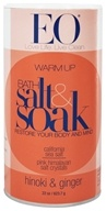 EO Products - Bath Salts Warming Hinoki & Ginger - 22 oz. (636874030180)