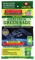 Evert-Fresh Corp. - Evert-Fresh Green Bags 10-Count - Medium