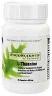 FoodScience of Vermont - L-Theanine 200 mg. - 30 Vegetarian Capsules - $10.25