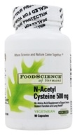 FoodScience of Vermont - N-Acetyl Cysteine - 90 Vegetarian Capsules by FoodScience of Vermont