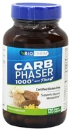Biochem by Country Life - Carb Phaser 1000 - 120 Vegetarian Capsules Contains White Kidney Bean Extract (015794017363)