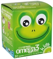 Image of Coromega - Kids Omega 3 Squeeze Lemon Lime - 30 Packet(s)