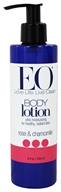 Image of EO Products - Body Lotion Rose & Chamomile - 8 oz.