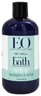 Image of EO Products - Bubble Bath Be Well Eucalyptus & Arnica - 12 oz.