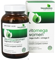 Futurebiotics - VitOmegaWomen Mega-Multi + Omega-3 - 90 Vegetarian Tablets by Futurebiotics
