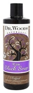 Dr. Woods - All Natural Eco-Friendly Castile Soap Pure Black Soap - 16 oz.