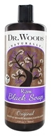 Dr. Woods - Liquid Raw Black Soap Original - 32 oz.