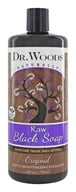Dr. Woods - Shea Vision Castile Soap With Organic Shea Butter Pure Black Soap - 32 oz.