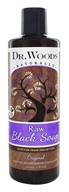 Dr. Woods - Liquid Raw Black Soap with Fair Trade Shea Butter Original - 16 oz.