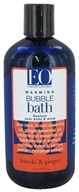 EO Products - Bubble Bath Warming Hinoki & Ginger - 12 oz.