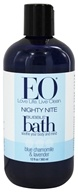 EO Products - Bubble Bath Nighty Nite Blue Chamomile & Lavender - 12 oz. (636874030524)