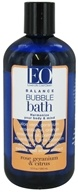 EO Products - Bubble Bath Balance Rose Geranium & Citrus - 12 oz.