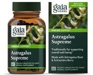 Gaia Herbs - Astragalus Supreme Liquid Phyto Capsules - 60 Vegetarian Capsules, from category: Herbs