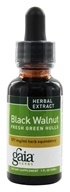 Gaia Herbs - Black Walnut Fresh Green Hulls - 1 oz. by Gaia Herbs