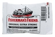 Fisherman's Friend - Menthol Cough Suppressant Lozenges Original Extra Strong - 20 Lozenges