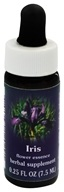 Flower Essence Services - Iris Flower Essence - 0.25 oz., from category: Flower Essences