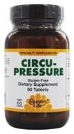 Country Life - Circu-Pressure - 60 Tablets Formerly Biochem by Country Life