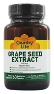 Country Life - Grape Seed Extract 200 mg. - 60 Vegetarian Capsules by Country Life