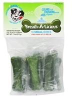 Dancing Paws - Breath-A-Licious Multi-Pack Small Bones For Dogs up to 30 LB - 10 Pack(s) by Dancing Paws