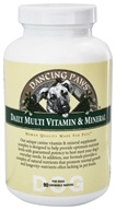 Dancing Paws - Canine Multi Vitamin & Mineral - 90 Wafers (609852110099)