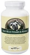 Dancing Paws - Canine Multi Vitamin & Mineral - 90 Wafers - $8.69
