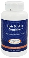 Image of Enzymatic Therapy - Hair & Skin Nutrition - 90 Softgels
