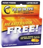 Enzymatic Therapy - Heartburn Free with ROH10 - 10 Softgels by Enzymatic Therapy