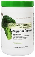 FoodScience of Vermont - Superior Greens - 12.57 oz., from category: Nutritional Supplements