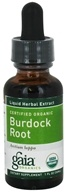 Image of Gaia Herbs - Burdock Root Certified Organic - 1 oz. CLEARANCE PRICED