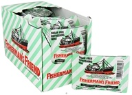 Fisherman's Friend - Menthol Cough Suppressant Lozenges Sugar Free Refreshing Mint - 20 Lozenges