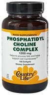 Country Life - Phosphatidyl Choline Complex 1200 mg. - 100 Softgels by Country Life