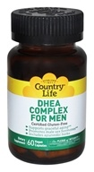 Country Life - DHEA Complex For Men - 60 Vegetarian Capsules Formerly Biochem (015794016779)