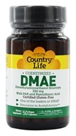 Country Life - DMAE Coenzymized with PAK and Pantothenic Acid 350 mg. - 50 Vegetarian Capsules Formerly Biochem - $7.19