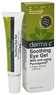 Derma-E - Soothing Eye Gel with Pycnogenol & Green Tea Extract - 0.5 oz.