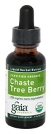Gaia Herbs - Chaste Tree Berry Certified Organic - 1 oz.