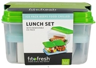 Fit & Fresh - Lunch on the Go 7 Piece Set - formerly by Vitaminder (700522002161)