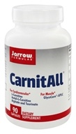Jarrow Formulas - CarnitAll 600 + - 90 Vegetarian Capsules, from category: Nutritional Supplements
