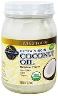 Garden of Life - Extra Virgin Coconut Oil - 16 oz. by Garden of Life