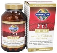Garden of Life - FYI Ultra Ultimate Joint and Cartilage Formula - 120 Vegetarian Capsules