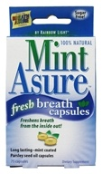 Image of Rainbow Light - Mint Asure Fresh Breath - 75 Capsules formerly Health Asure