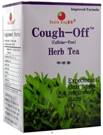 Image of Health King - Cough-Off Herb Tea - 20 Tea Bags