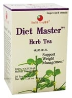 Health King - Diet Master Herb Tea - 20 Tea Bags by Health King
