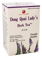Health King - Dong Quai Lady's Herb Tea - 20 Tea Bags (646322000078)