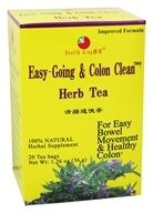 Image of Health King - Easy-Going & Colon Clean Herb Tea - 20 Tea Bags