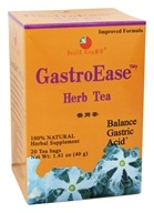 Health King - GastroEase Herb Tea - 20 Tea Bags (646322000122)
